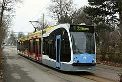Wwwulmereisenbahnende Straßenbahn Fahrzeuge Combino 49